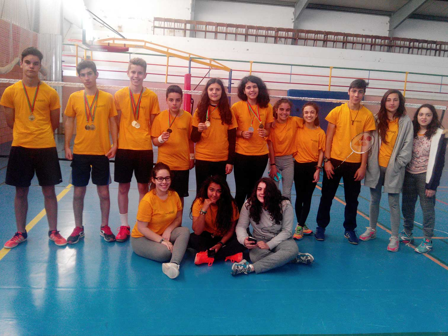 Badminton iniciados final-distrital